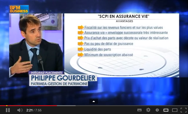 Video SCPI en Assurance Vie - BFM Business